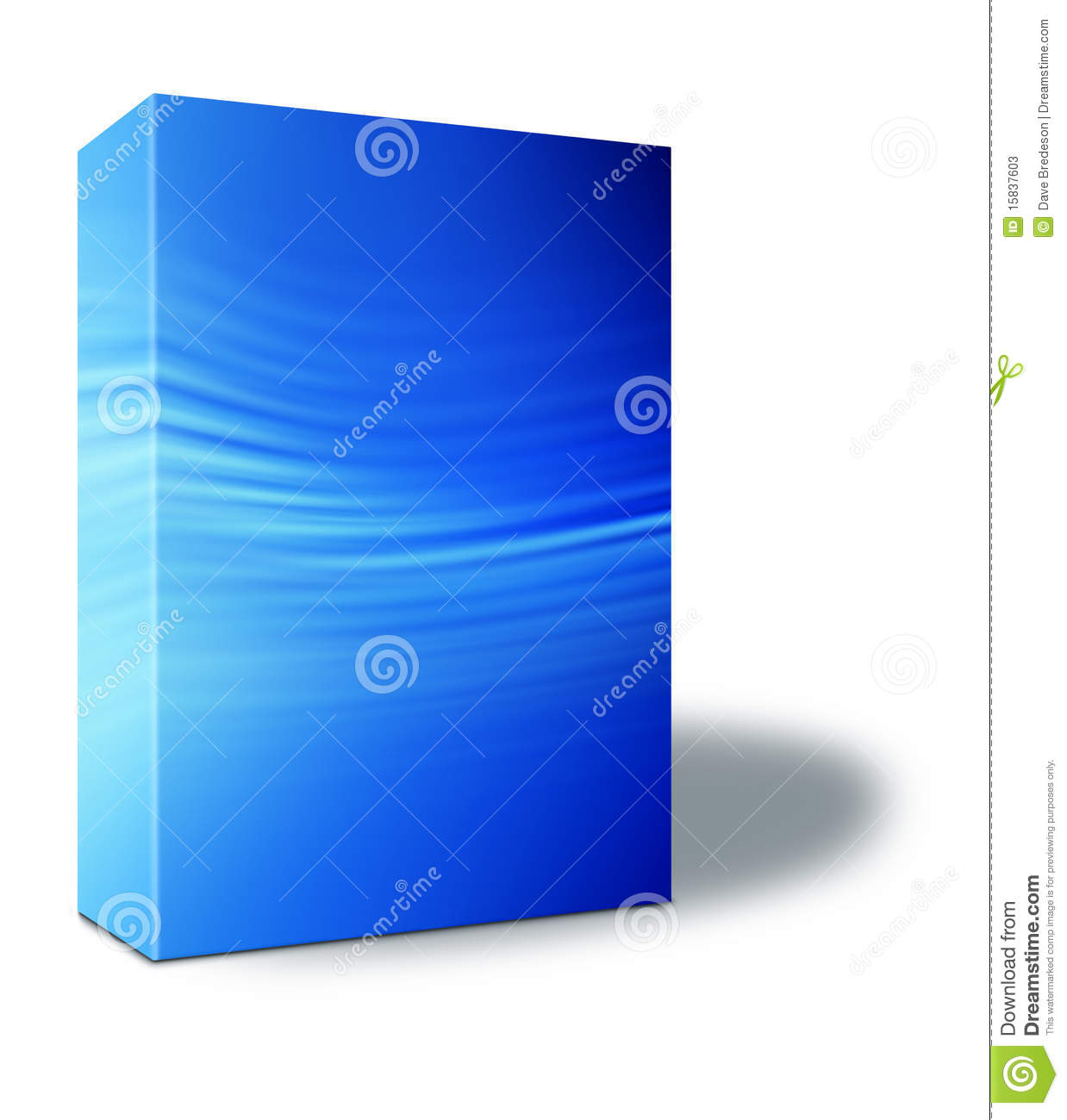 Blue Product Box