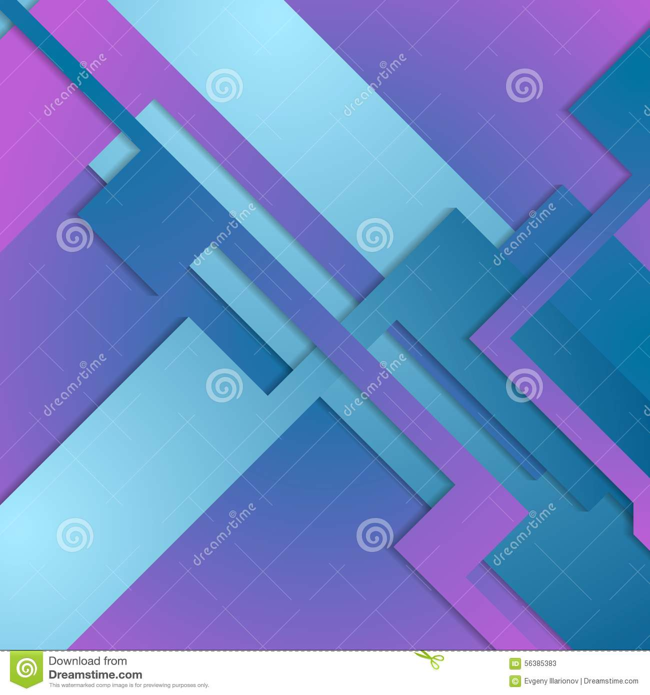 blue and purple geometry - photo #4