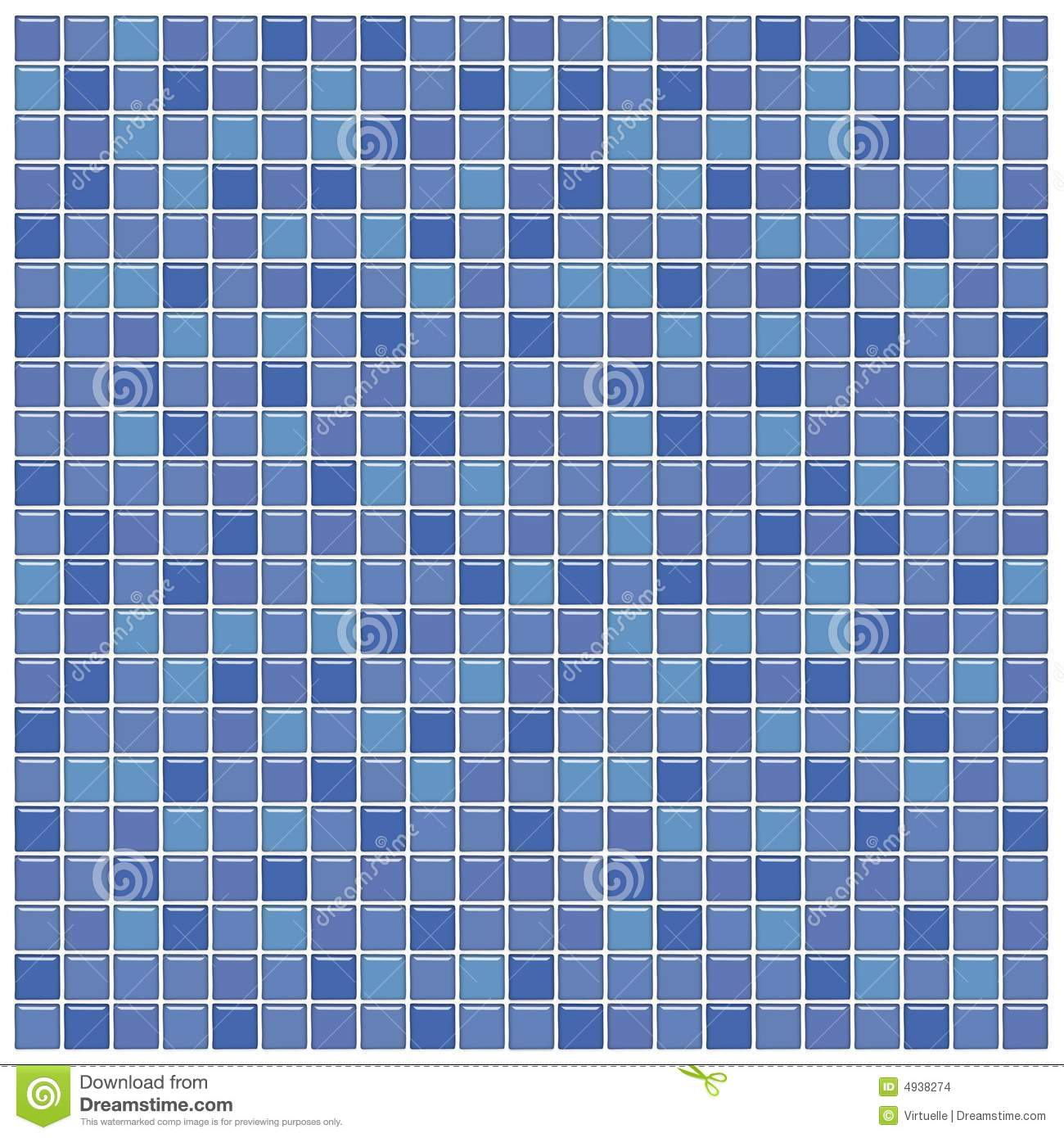Blue And Purple Glass Tiles Stock Images - Image: 4938274