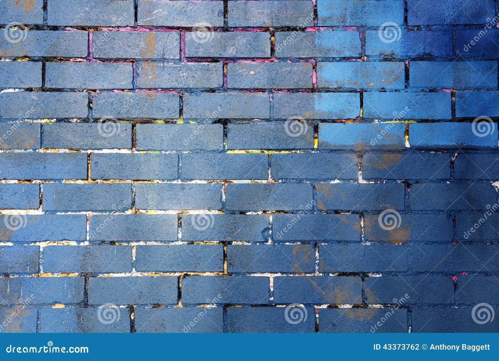 Purple Brick Wall Background Royalty Free Stock Photo
