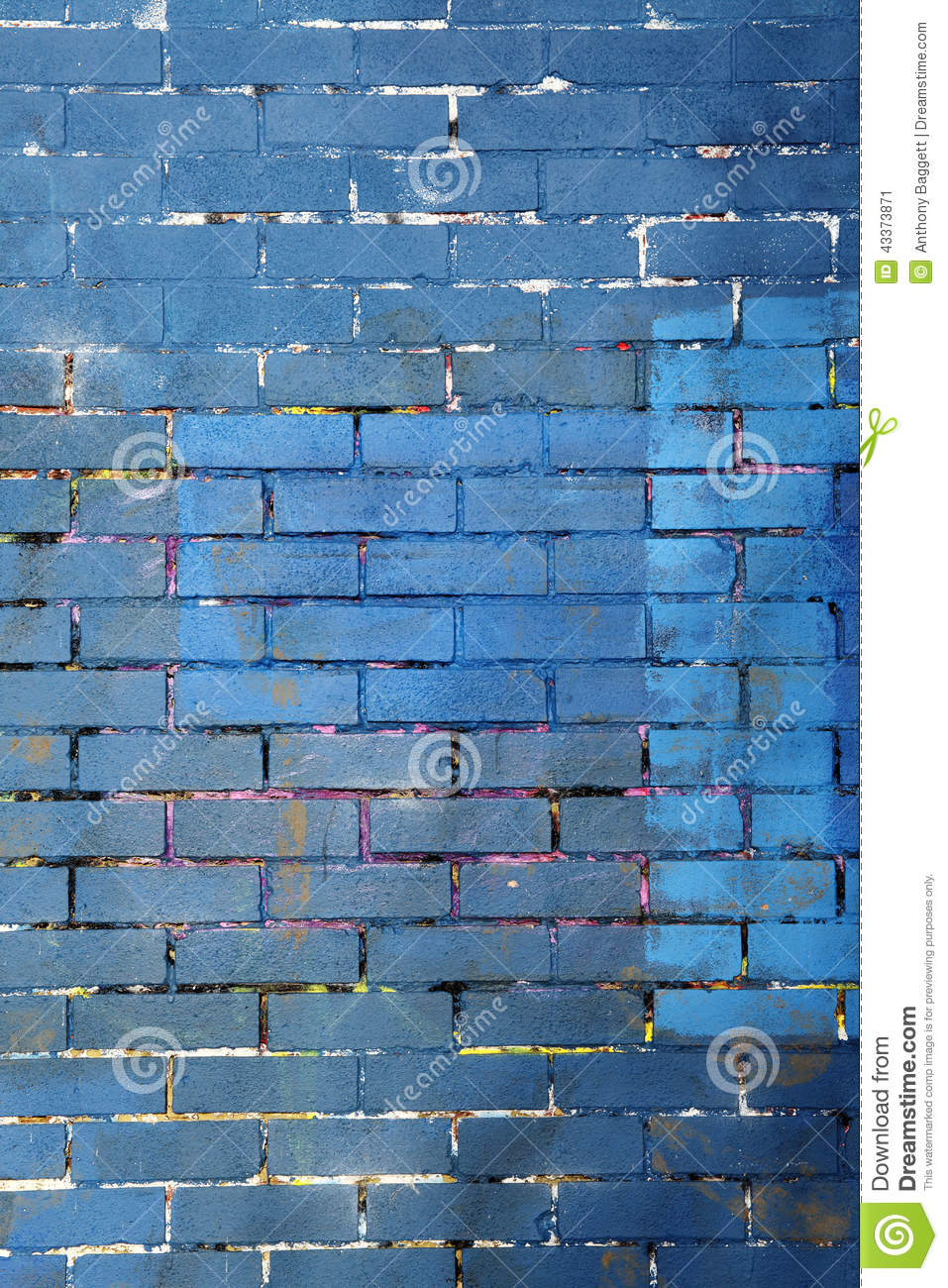 Purple Brick Wall Background Royalty Free Stock Photo