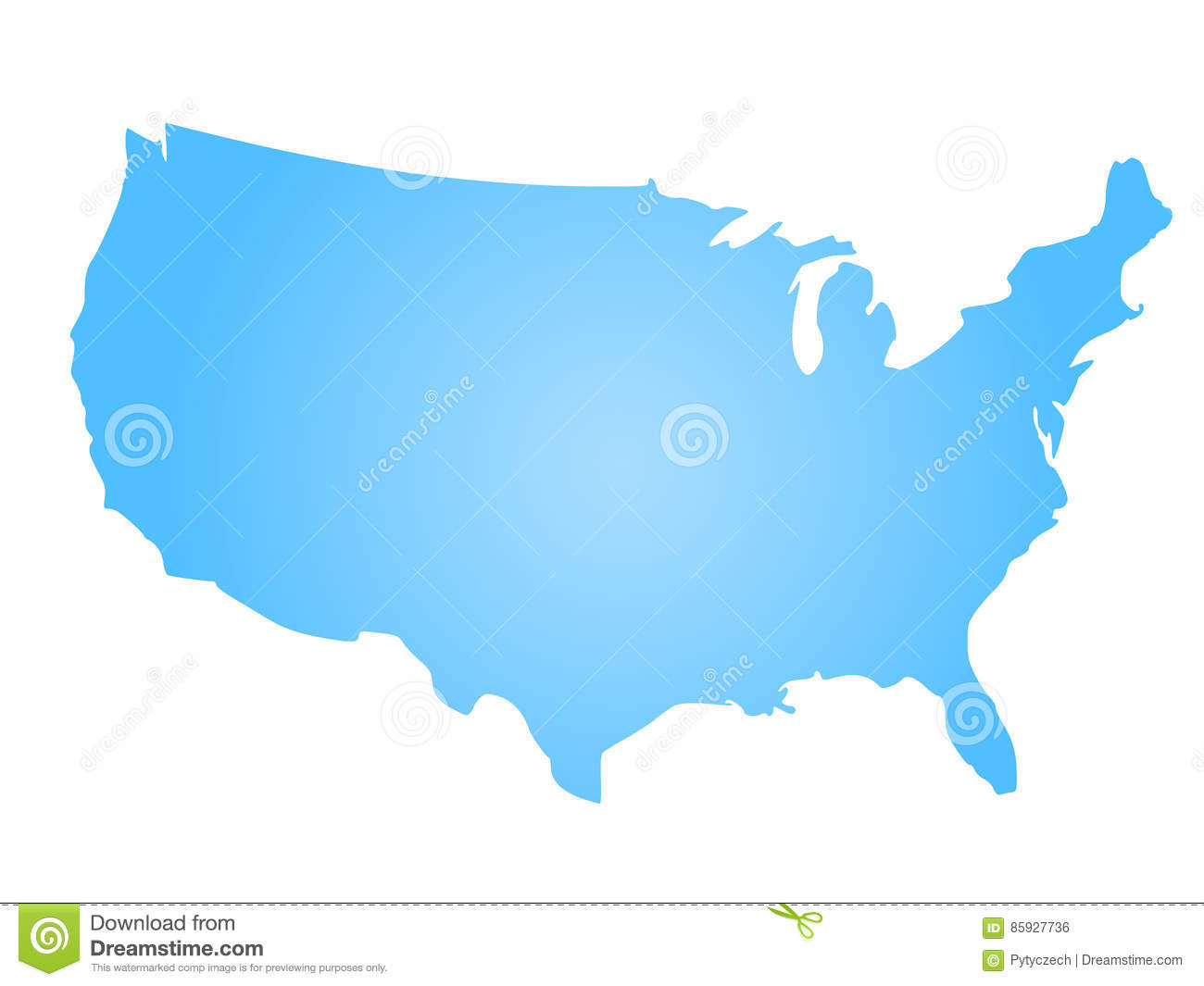 Us Map Vector Free Download - Alternative Clipart Design •