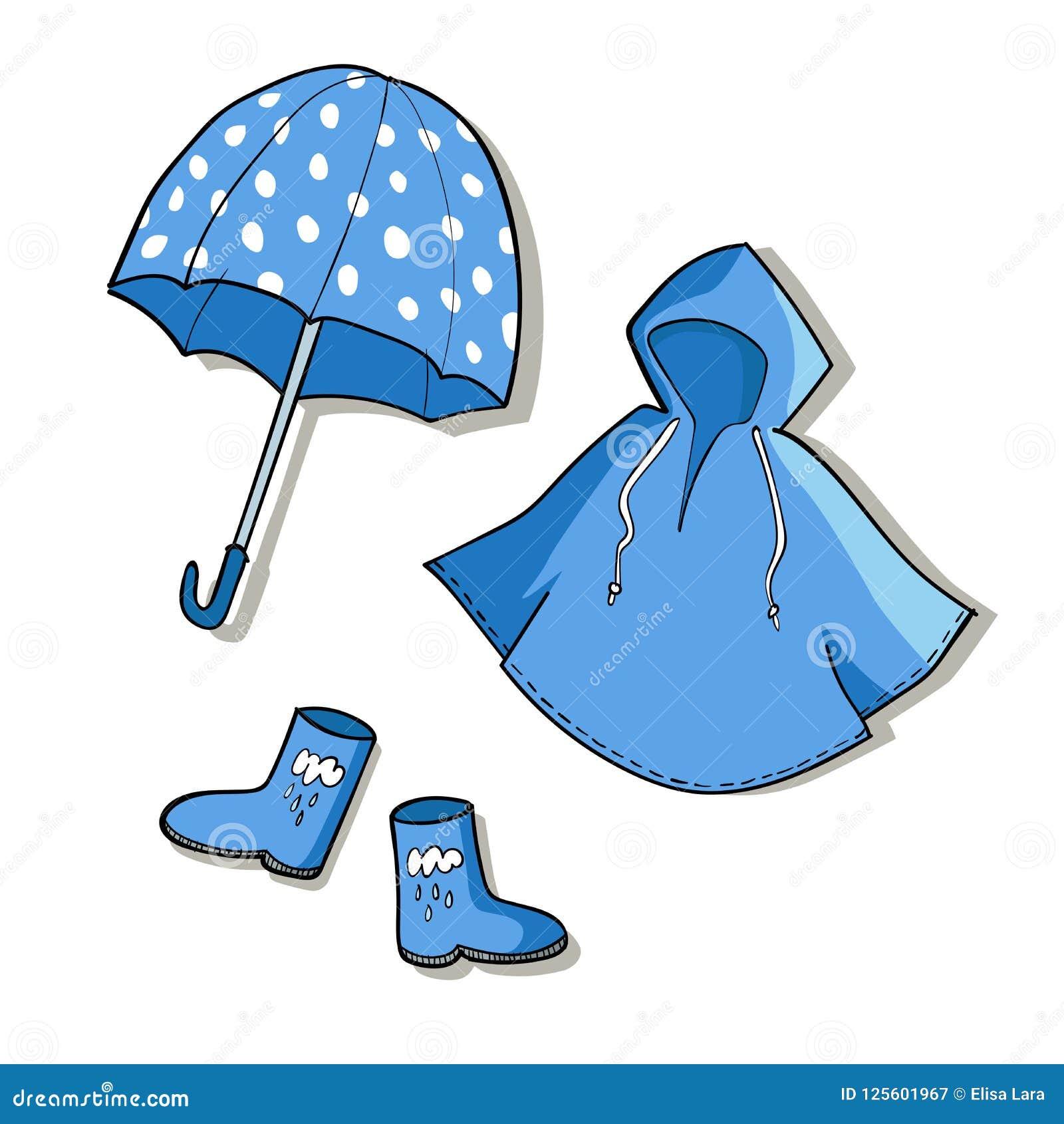 Rainy Weather Clip Art