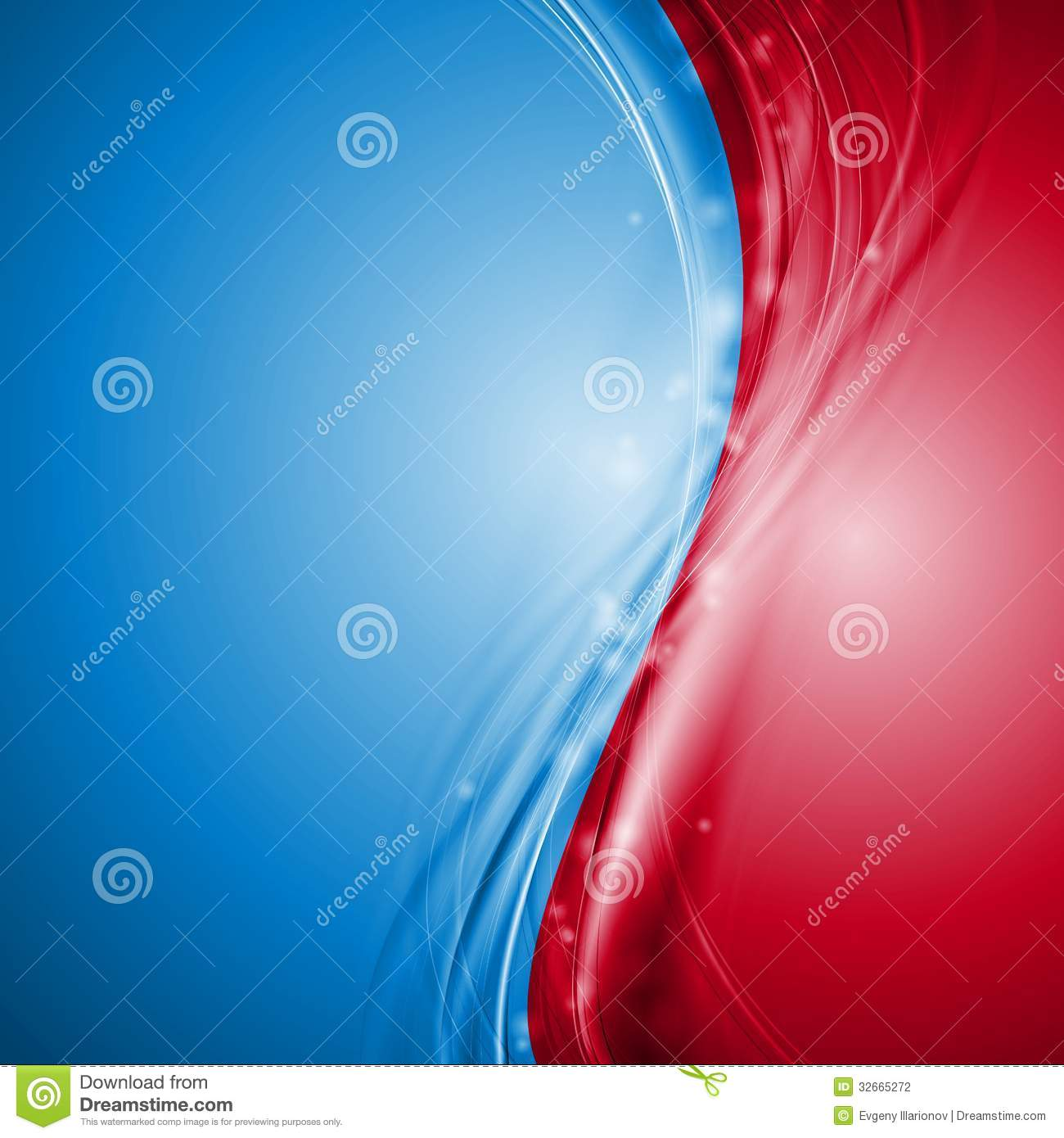blue and red abstract vector waves design stock vector image 32665272. Black Bedroom Furniture Sets. Home Design Ideas