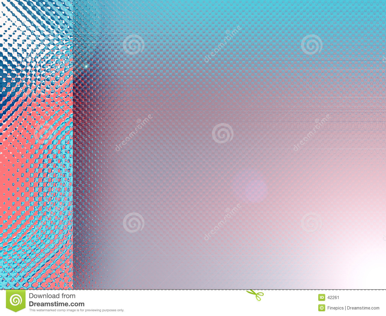 Blue and red background