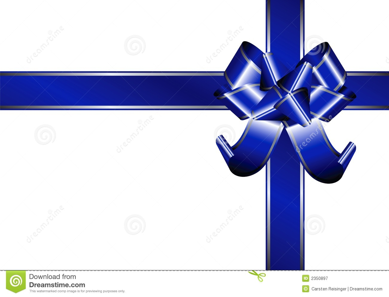 Blue Ribbon Royalty Free Stock Photography - Image: 2350897