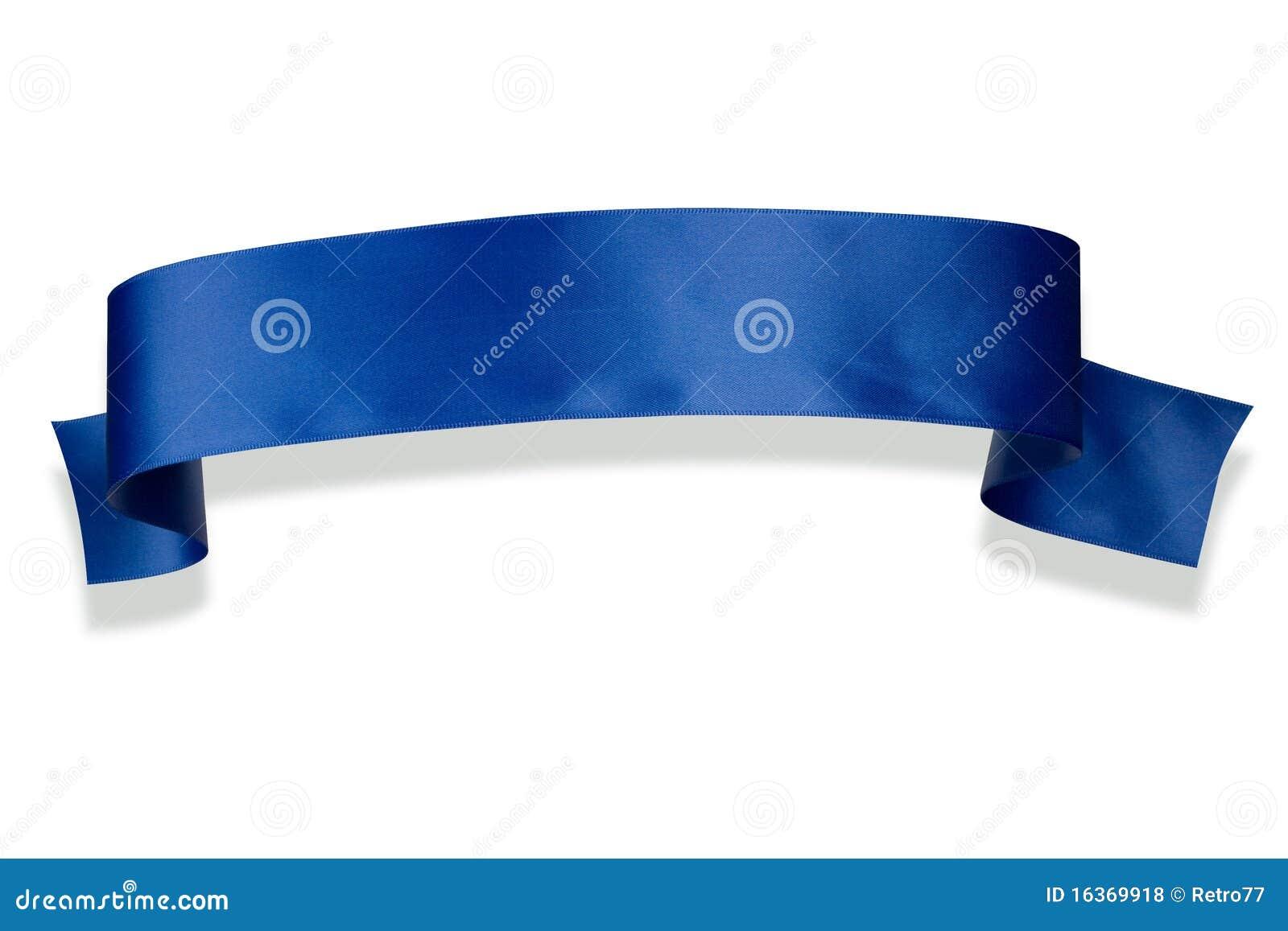 Blue Ribbon Banner Royalty Free Stock Photos - Image: 16369918  Blue Ribbon Ban...