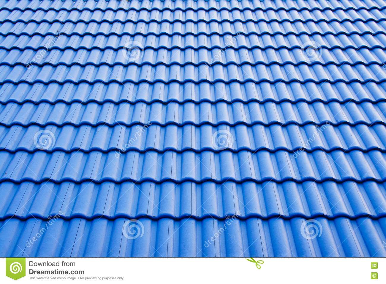 Blue Roof Stock Image Image Of Architecture Detail