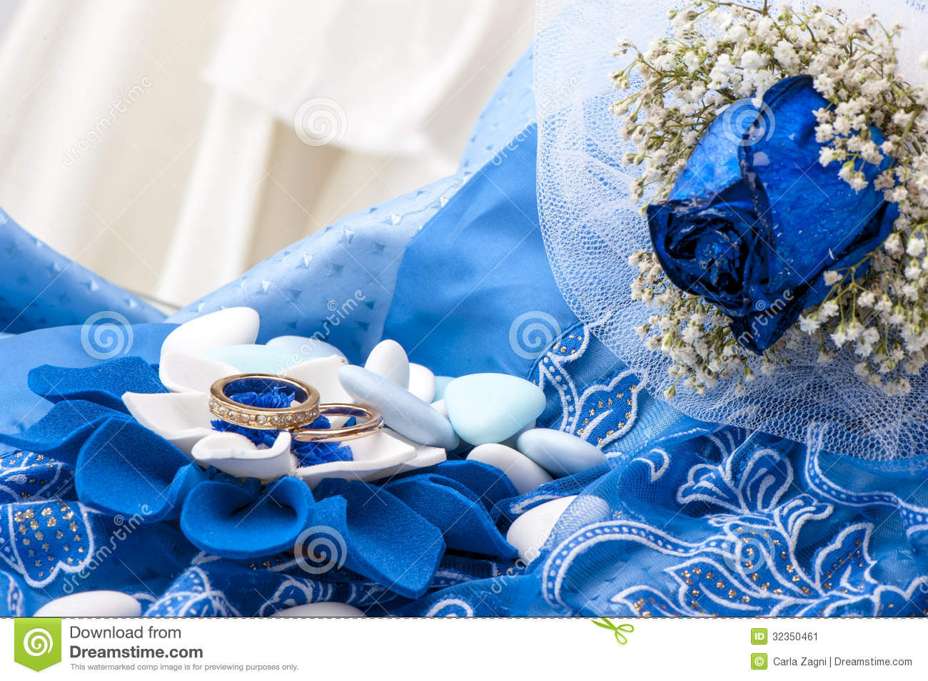 lily ring engagement wedding kamper rings blue and white