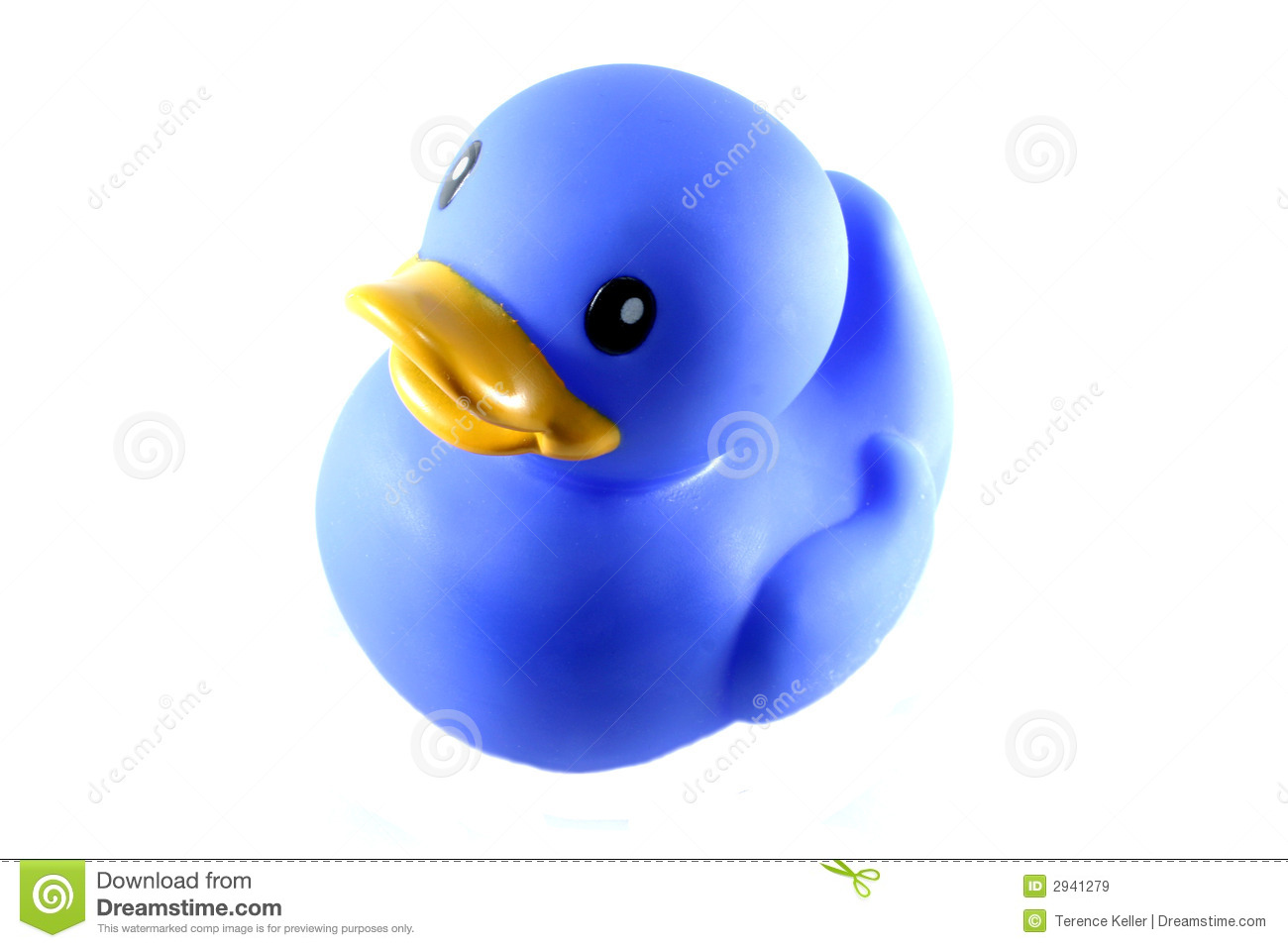 Blue Rubber Duck Royalty Free Stock Images Image 2941279
