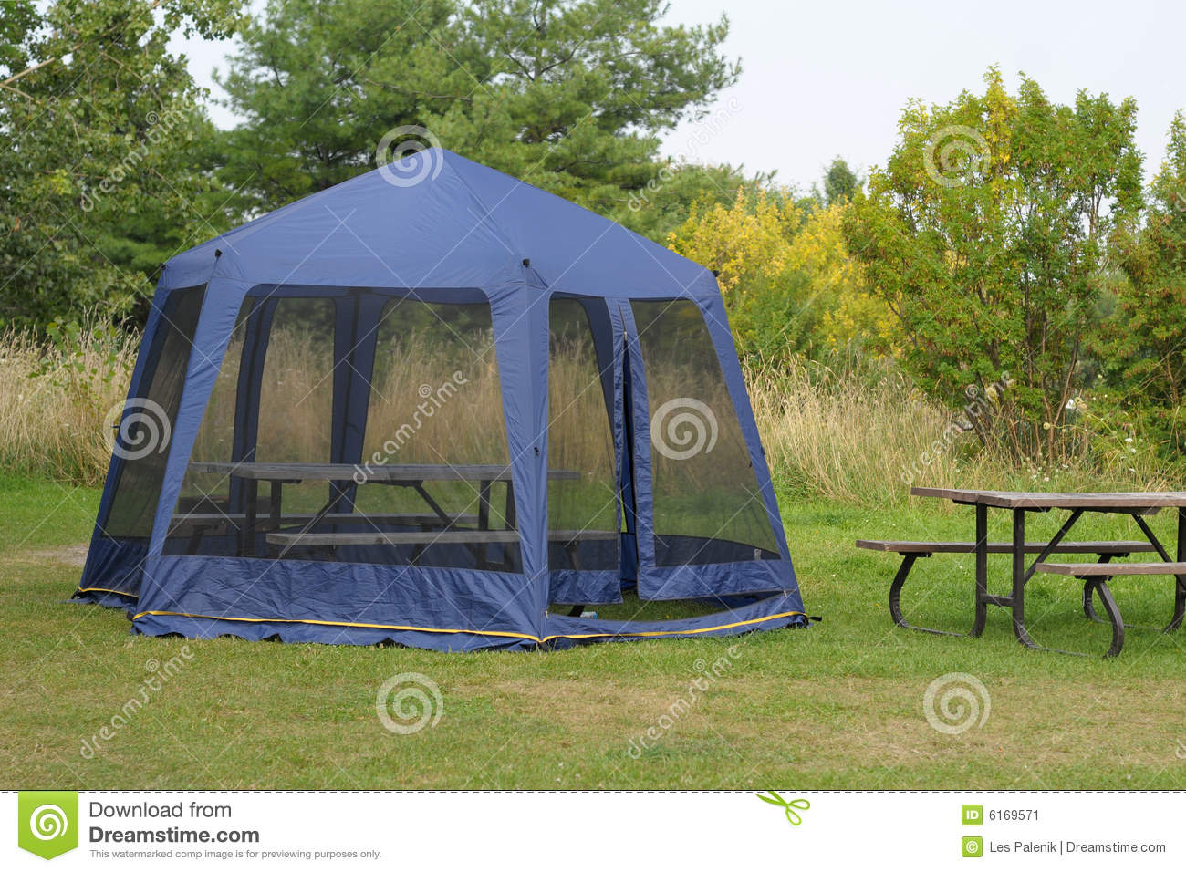 Blue screen tent & Blue screen tent stock image. Image of campsite shelter - 6169571