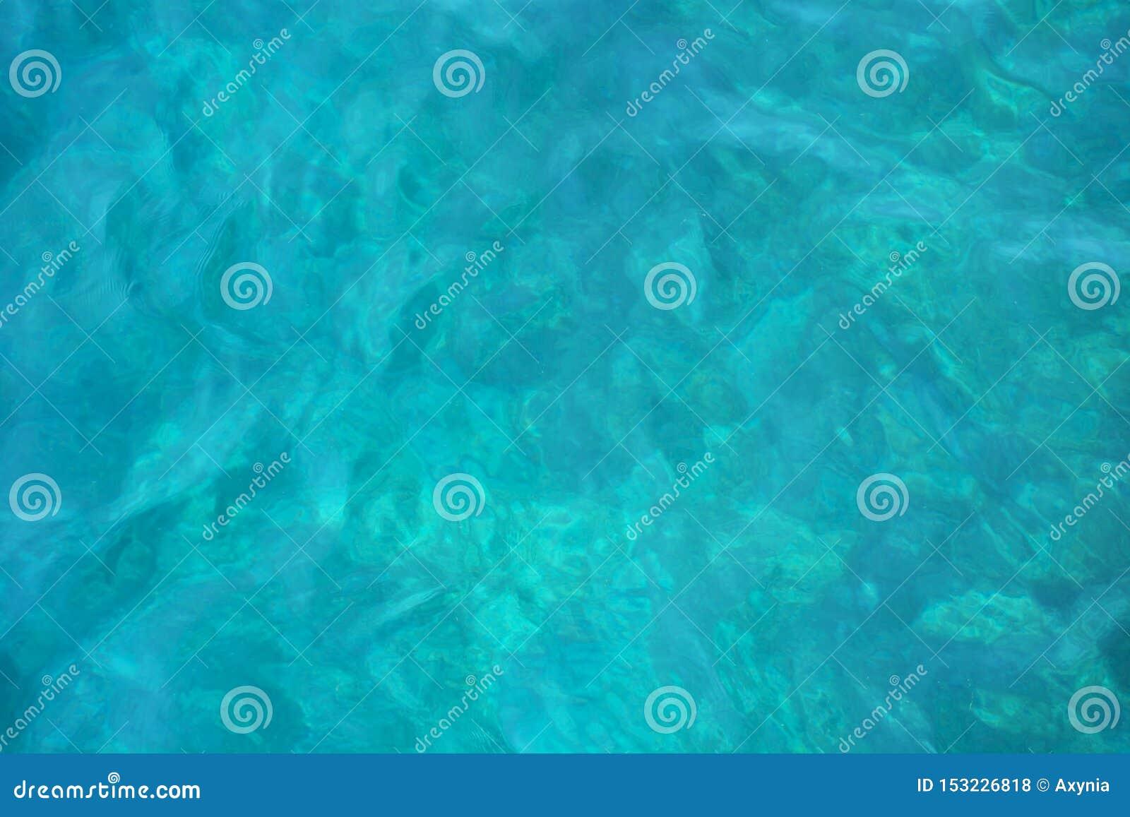 Blue sea water blurred ripple background. Aegean Sea, Turkey