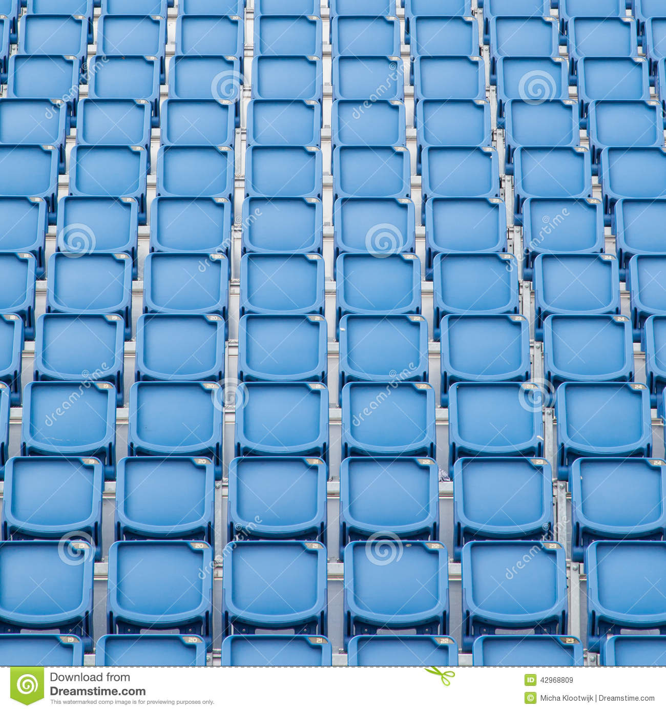 a group of empty seat or chair in stadium   theater or concert stock image