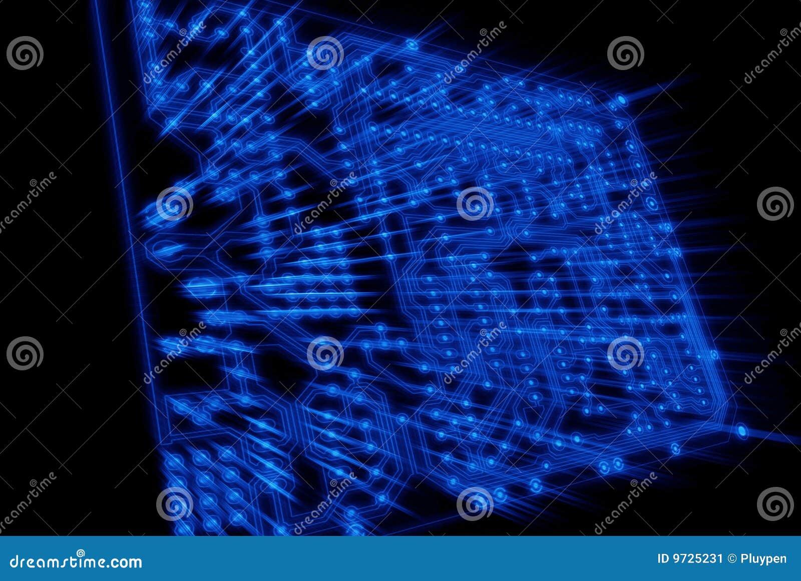 Misterio como pantalla de luz azul espiral cierne sobre Noruega ()