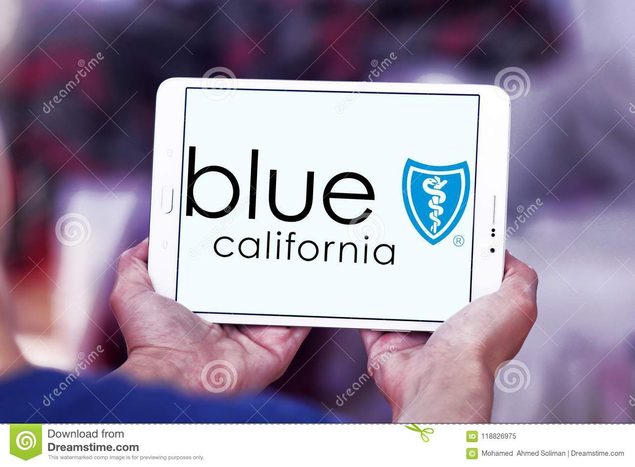 Blue Shield Of California Logo Editorial Image - Image of brands