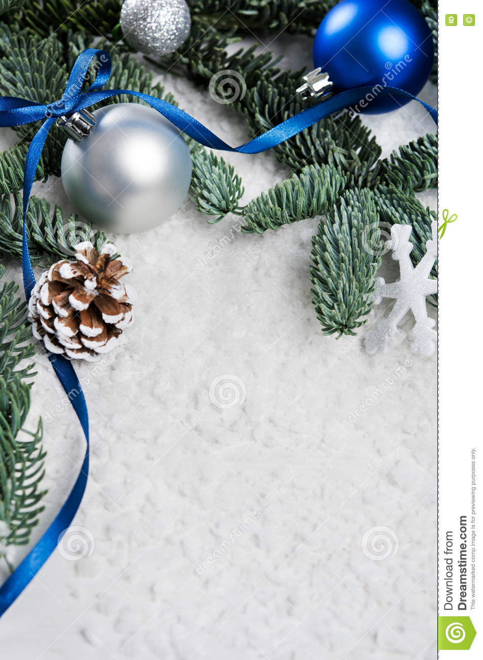 blue and silver christmas border - Blue And Silver Christmas