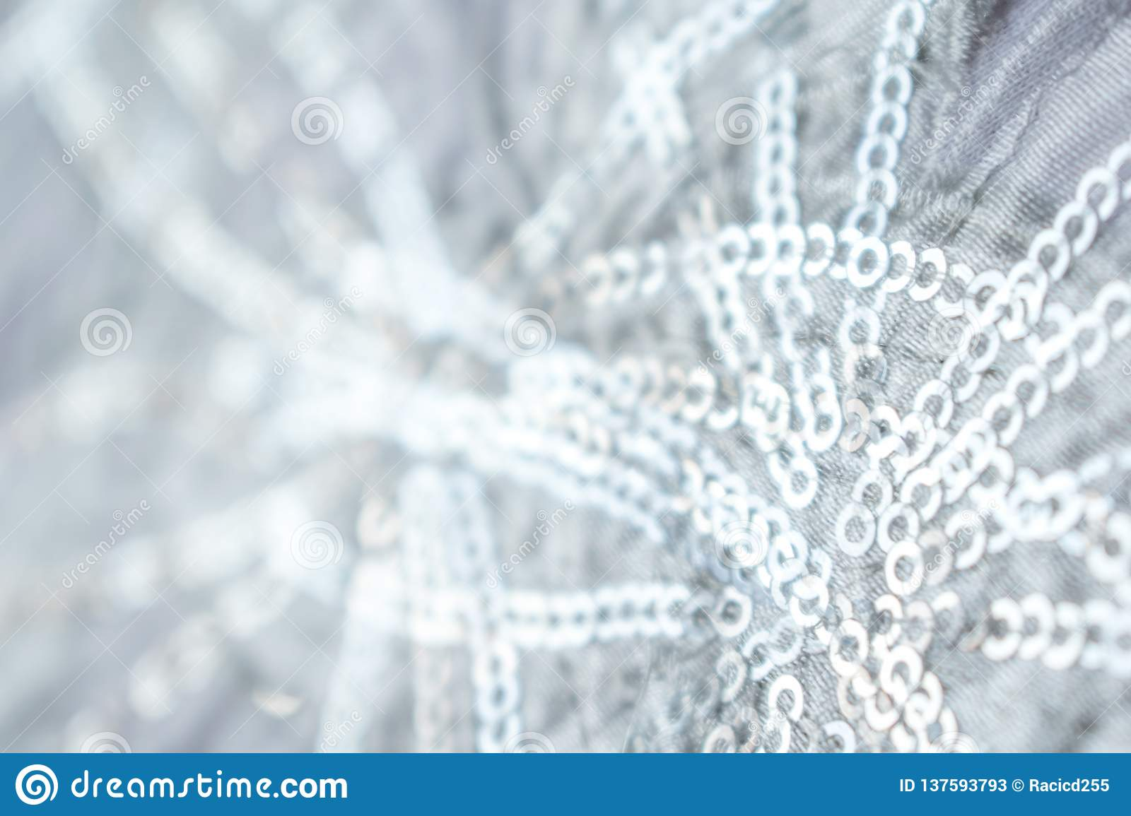 Blue and Silver Frozen Snow Winter Sparkling Stars Glitter background. Holiday, Christmas, New Year abstract texture. Golden, conc