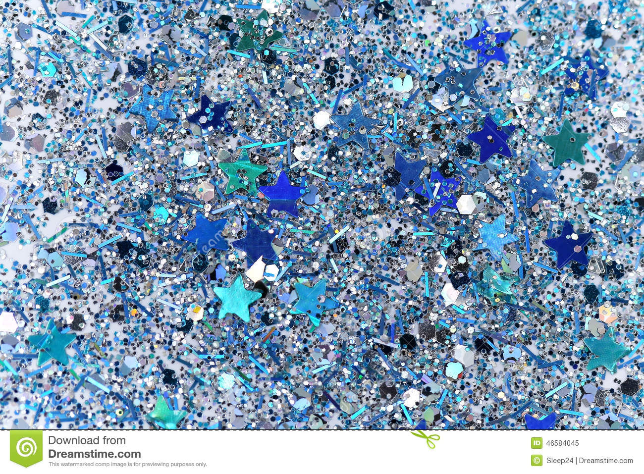 blue and silver frozen snow winter ice cold sparkle star glitter background holiday christmas new year abstract texture