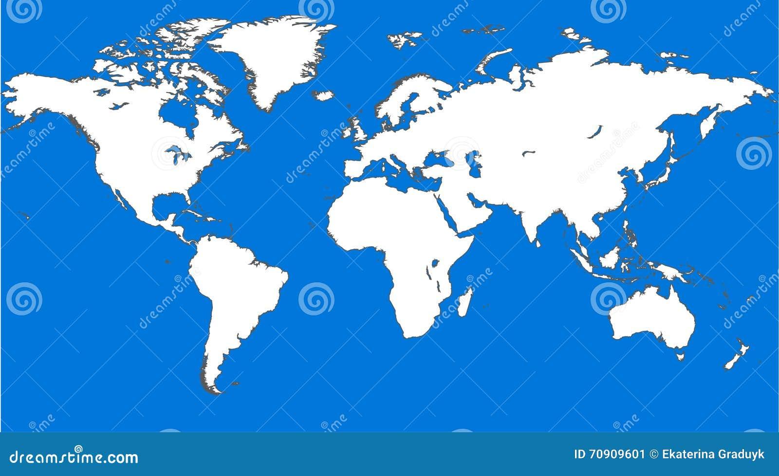Blue Similar World Map World Map Blank World Map Vector World Map