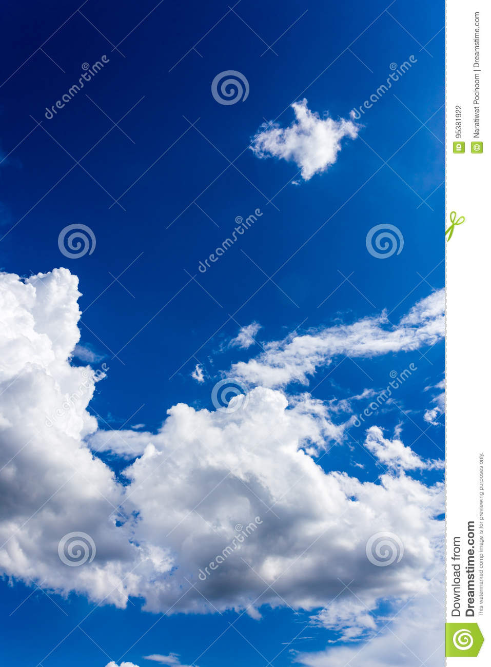 blue sky with clouds background wallpapers stock photo - image of