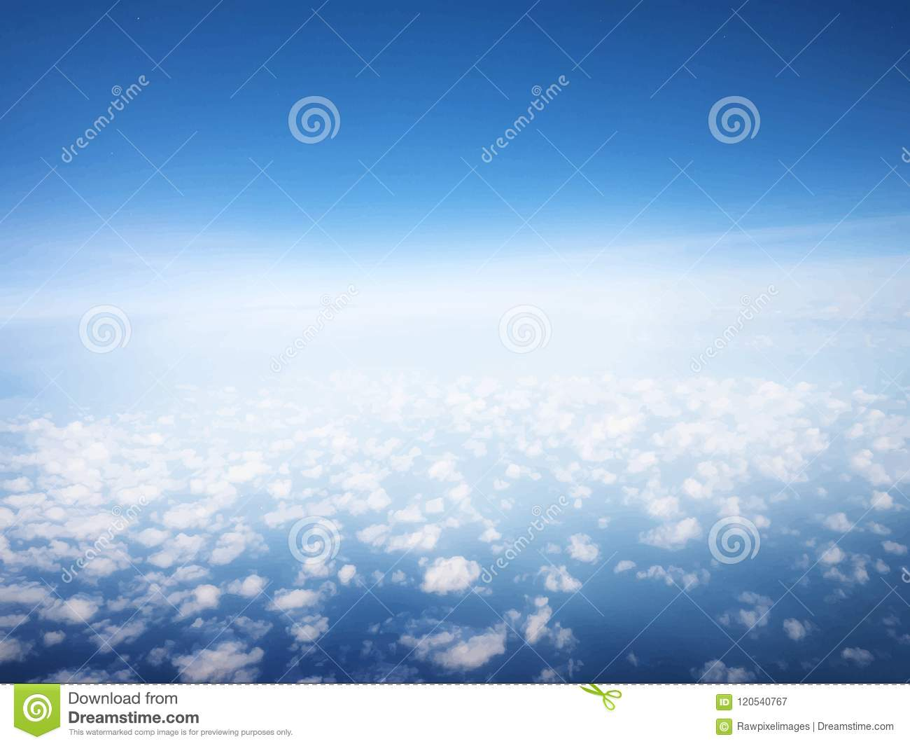 blue sky with clouds wallpaper stock vector - illustration of blank