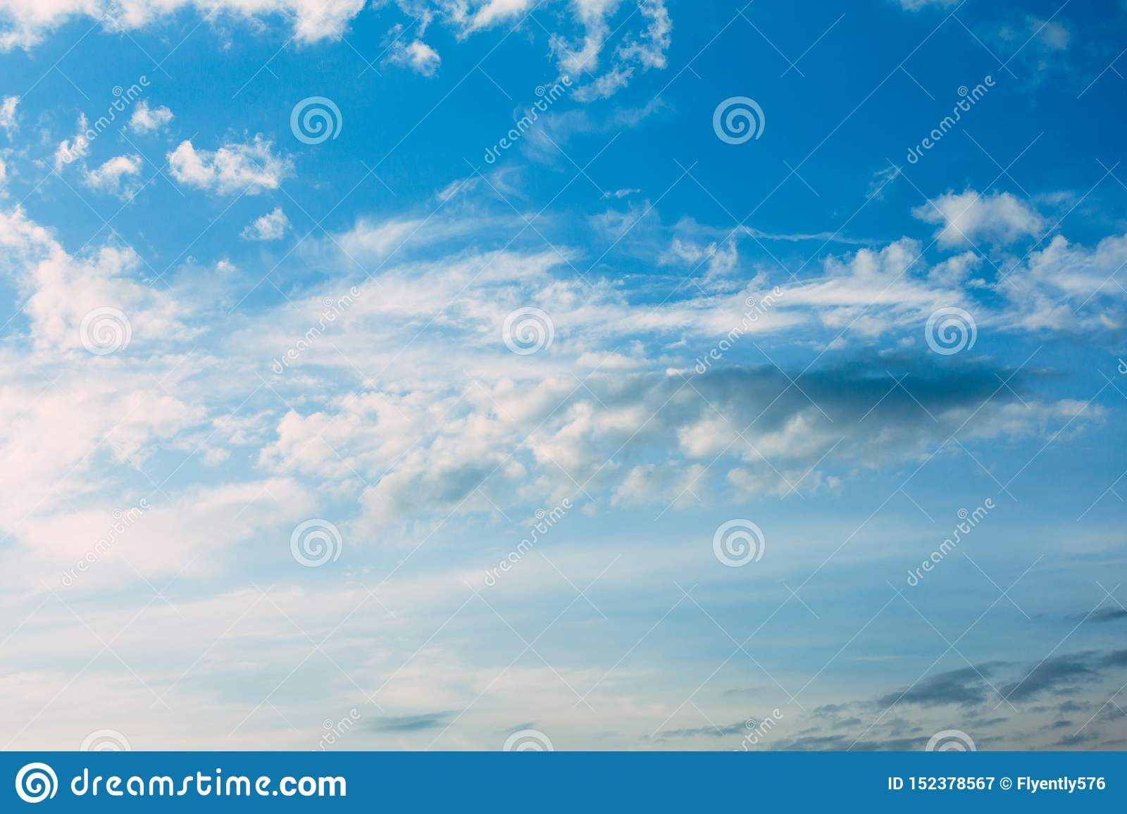 Blue Sky Day With Clouds Pure Air Sunny Day Wallpapers