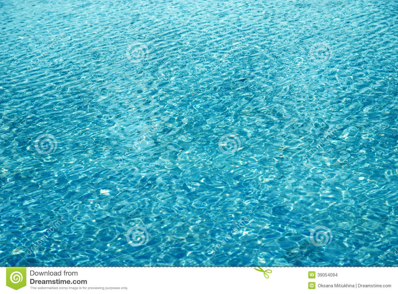 Blue sky surface of swimming pool stock photo image - How to make swimming pool water blue ...