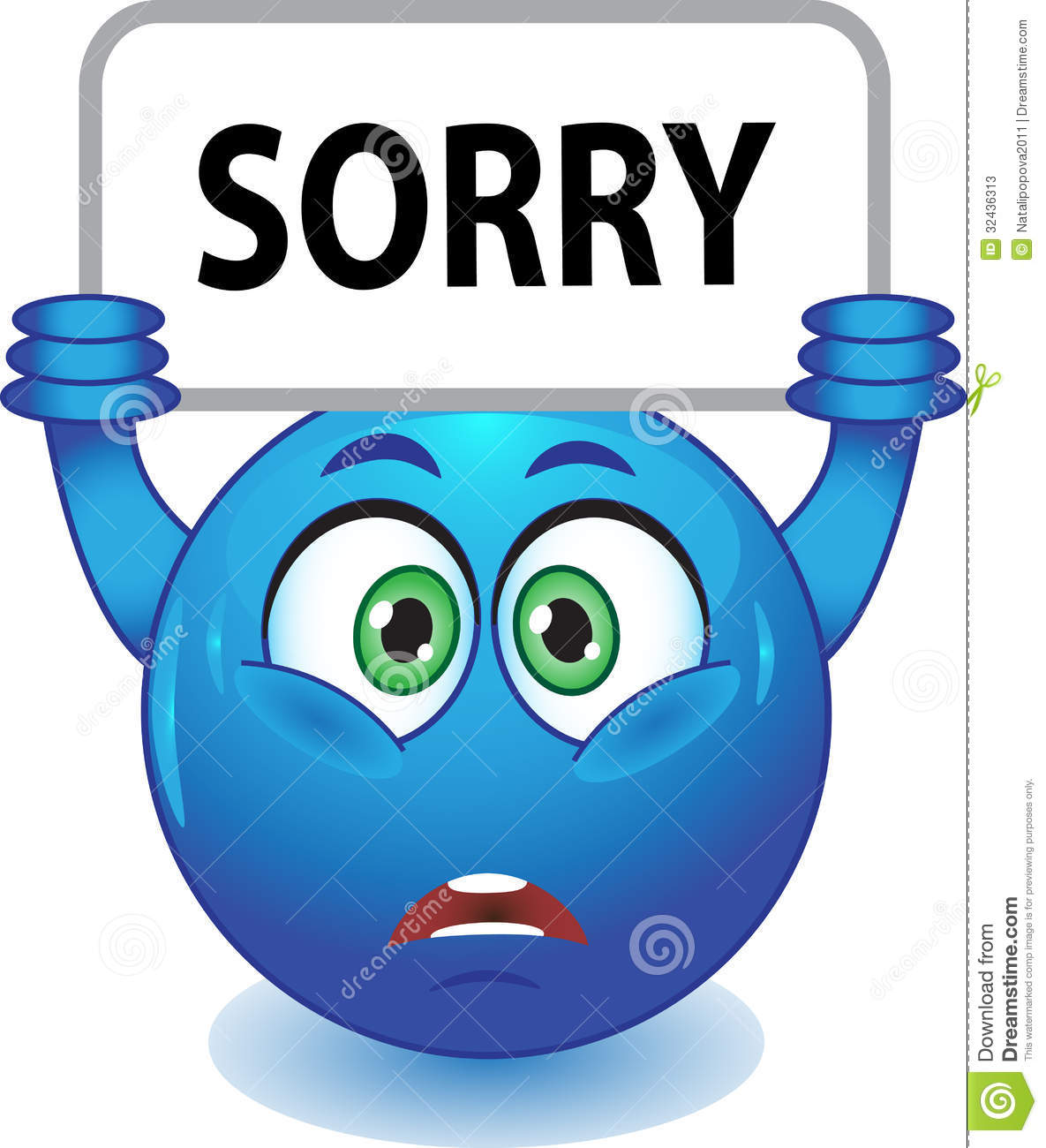 blue smiley apologizes stock illustration illustration of Happy Smiley Face Clip Art Sad Smiley Face Clip Art