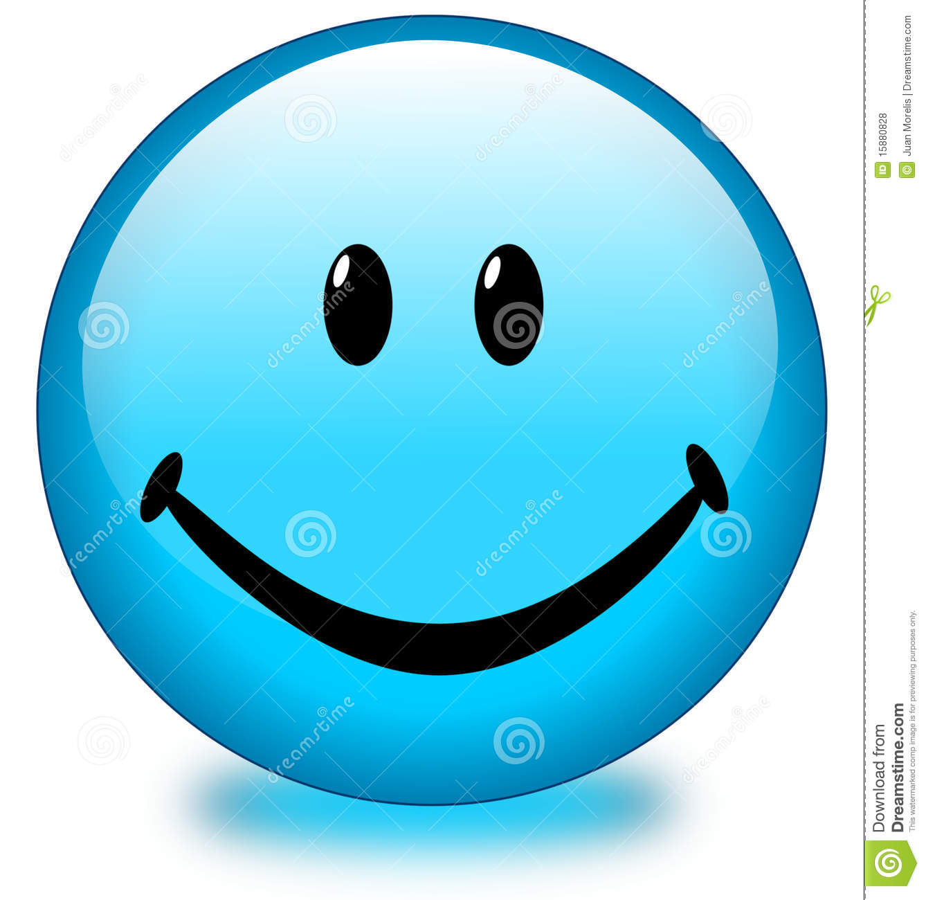Blue Smiley Face Button Royalty Free Stock Photos - Image: 15880828 Angry Black Woman Face
