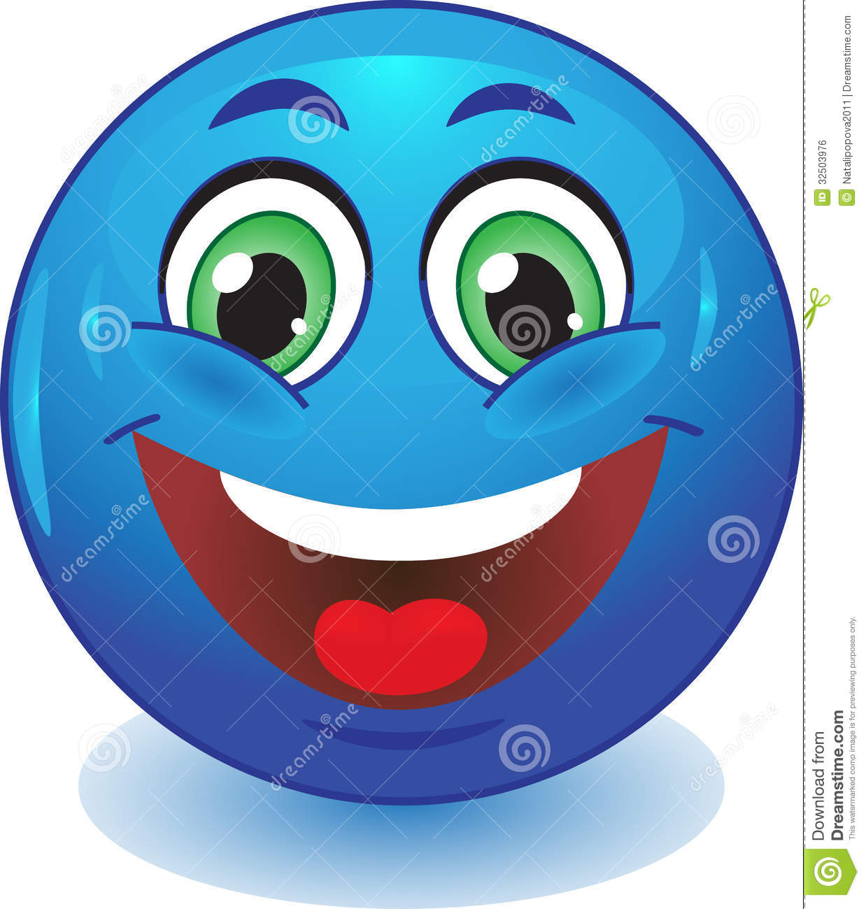 Royalty Free Stock Image Blue Smiley Smiles Stock Image Human Emotion Smile Image32503976 on happy cartoon mouth
