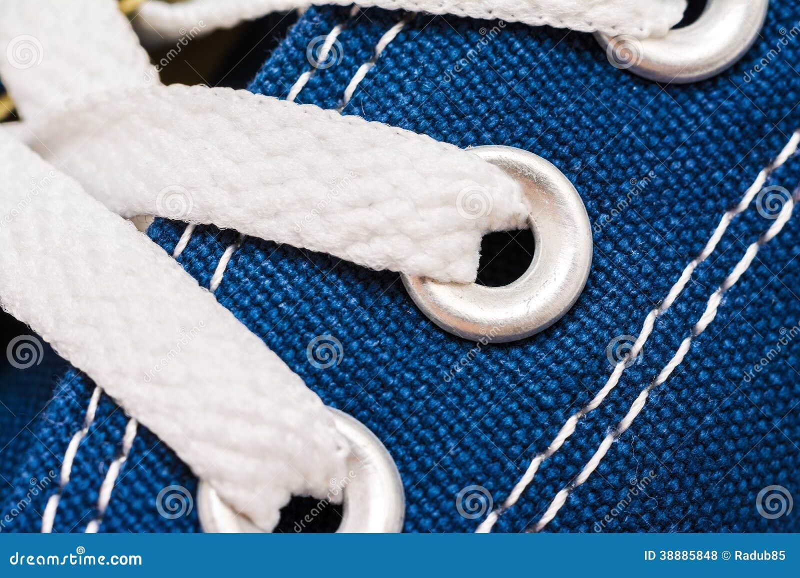 Nike Shoe Laces Blue
