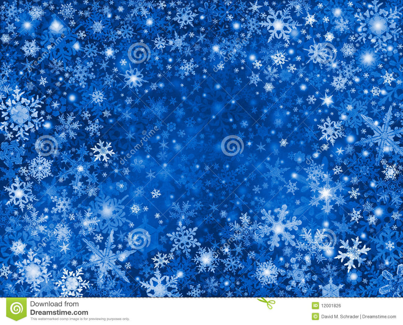 Blue snow storm background royalty free stock image image 12001826