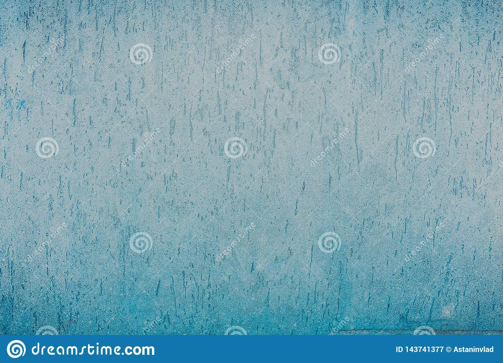Blue snow texture, frosty freshness, cold winter, snow background, winter pattern