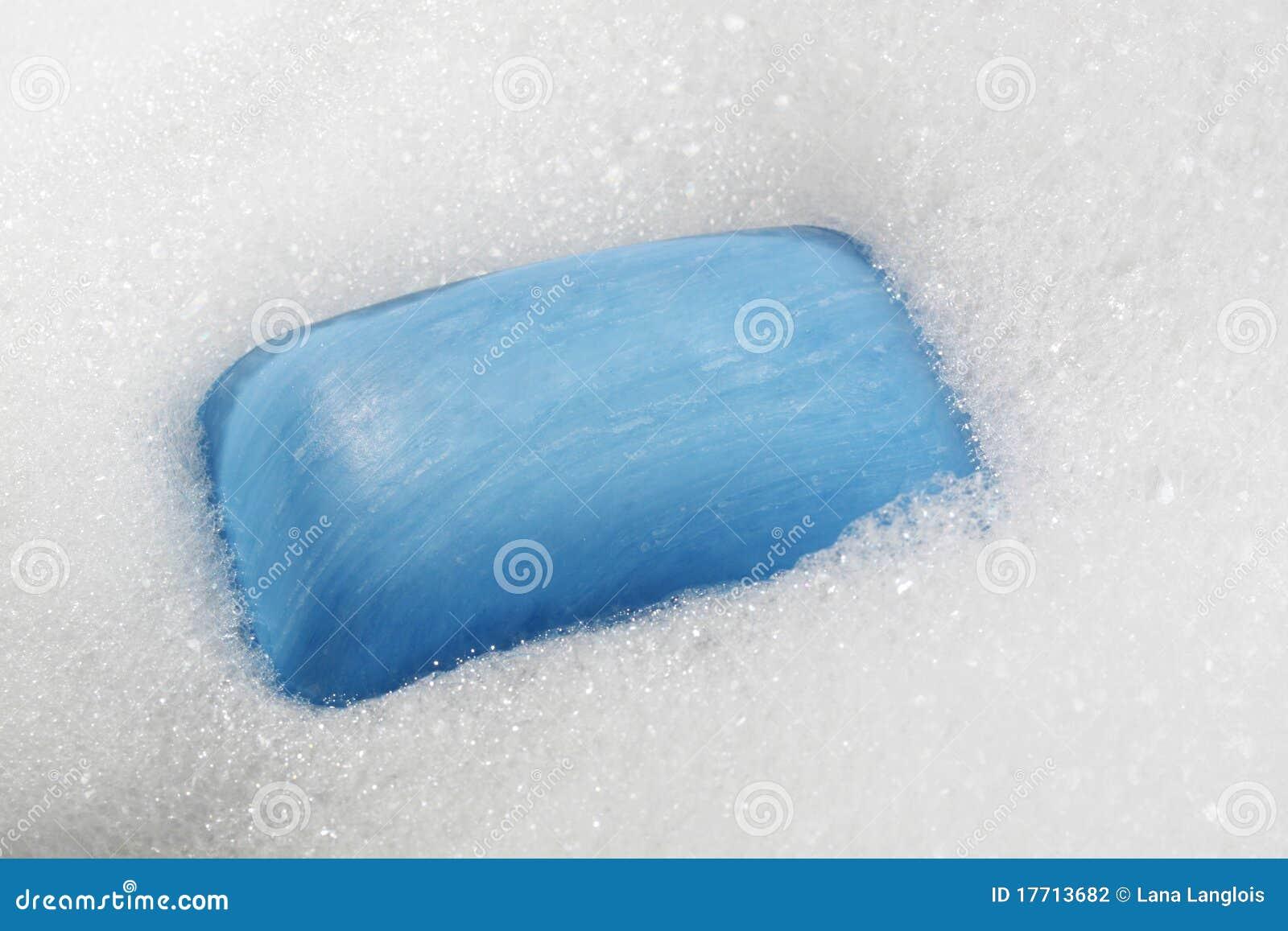 Blue Soap Bar Stock Photography Image 17713682