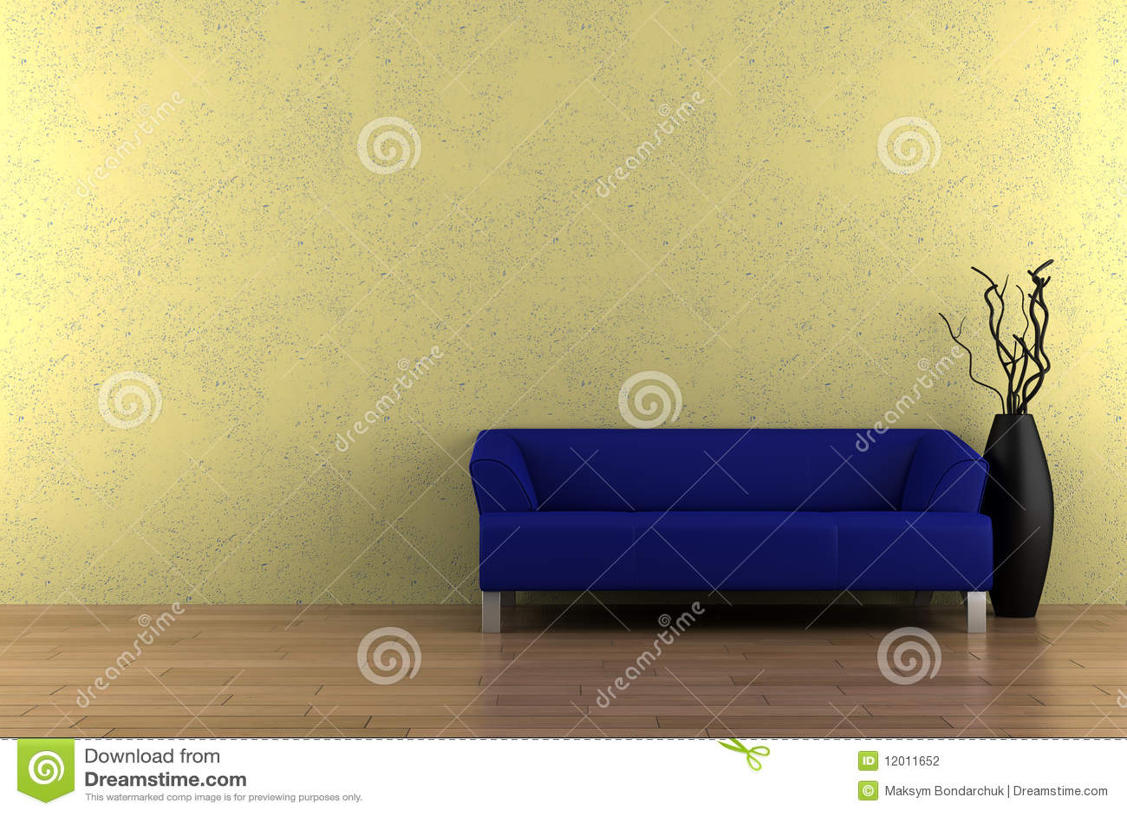 royaltyfree stock photo download blue sofa