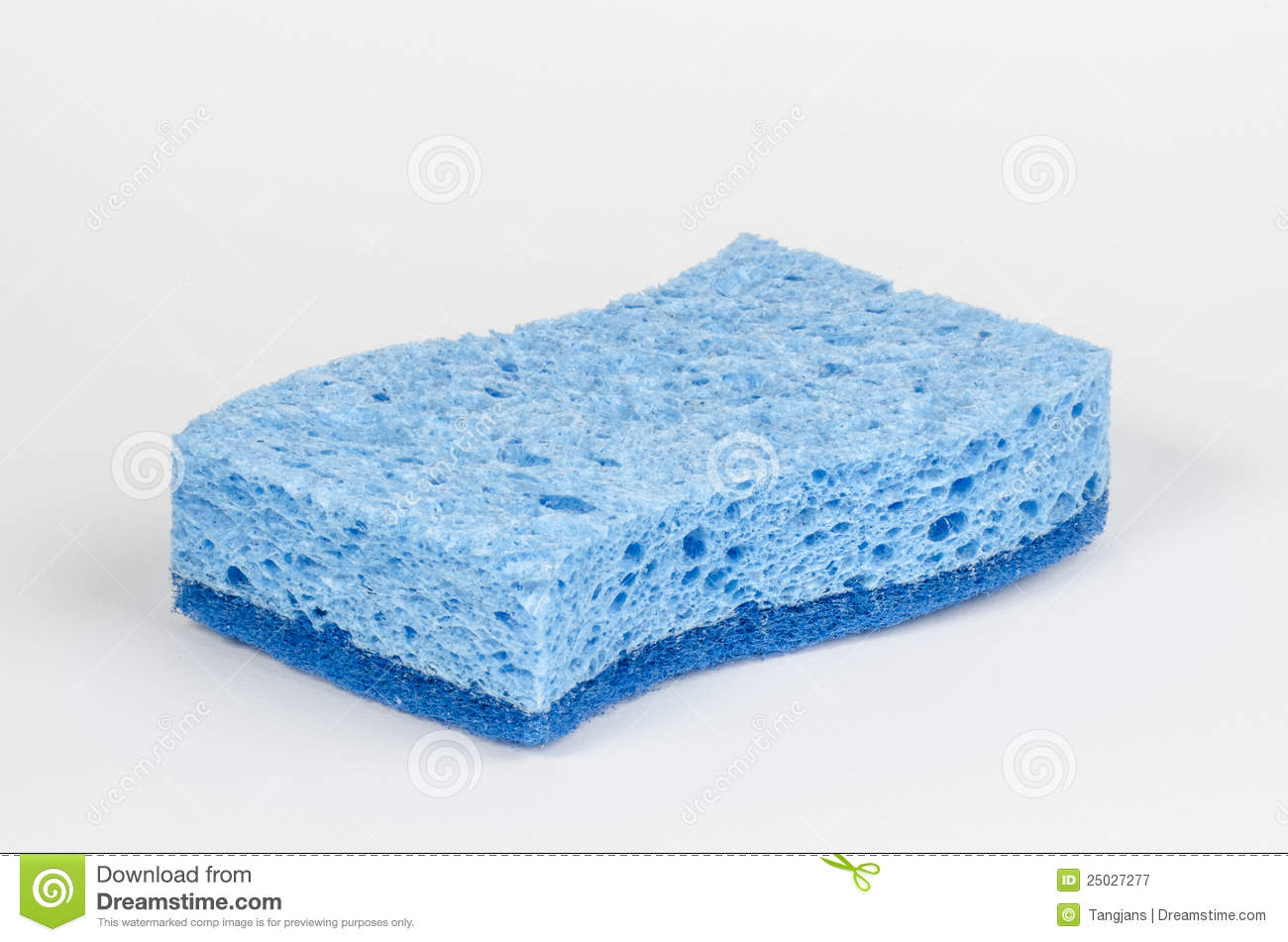 Blue Sponge Stock Image Image Of Blue Clean Detergent