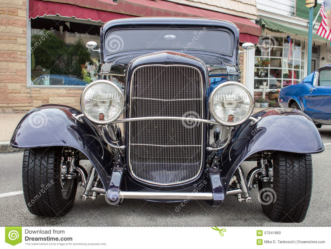Blue Sports Coup Front stock photo  Image of speed, auto - 57041860