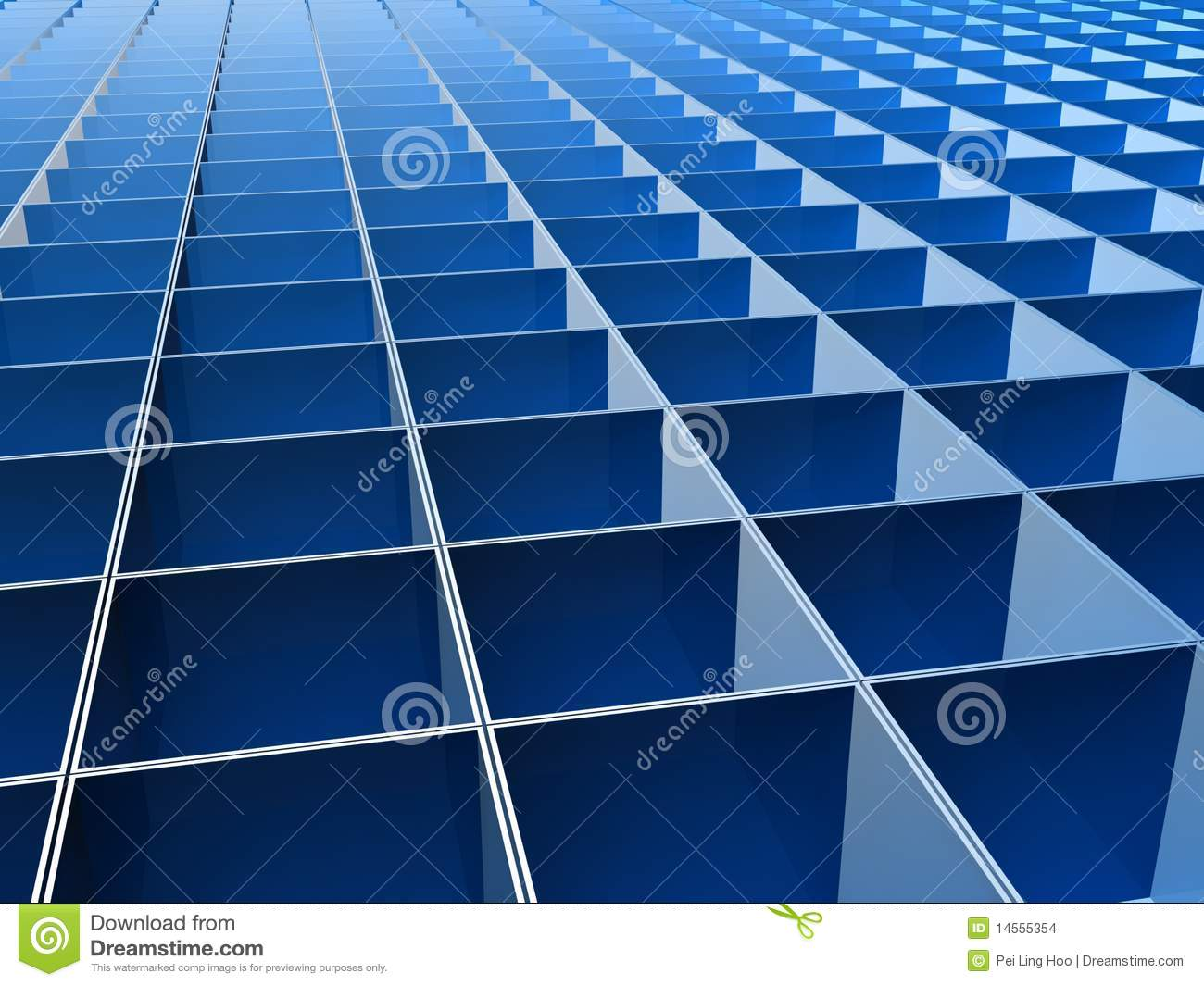 Blue square pattern background - photo#13