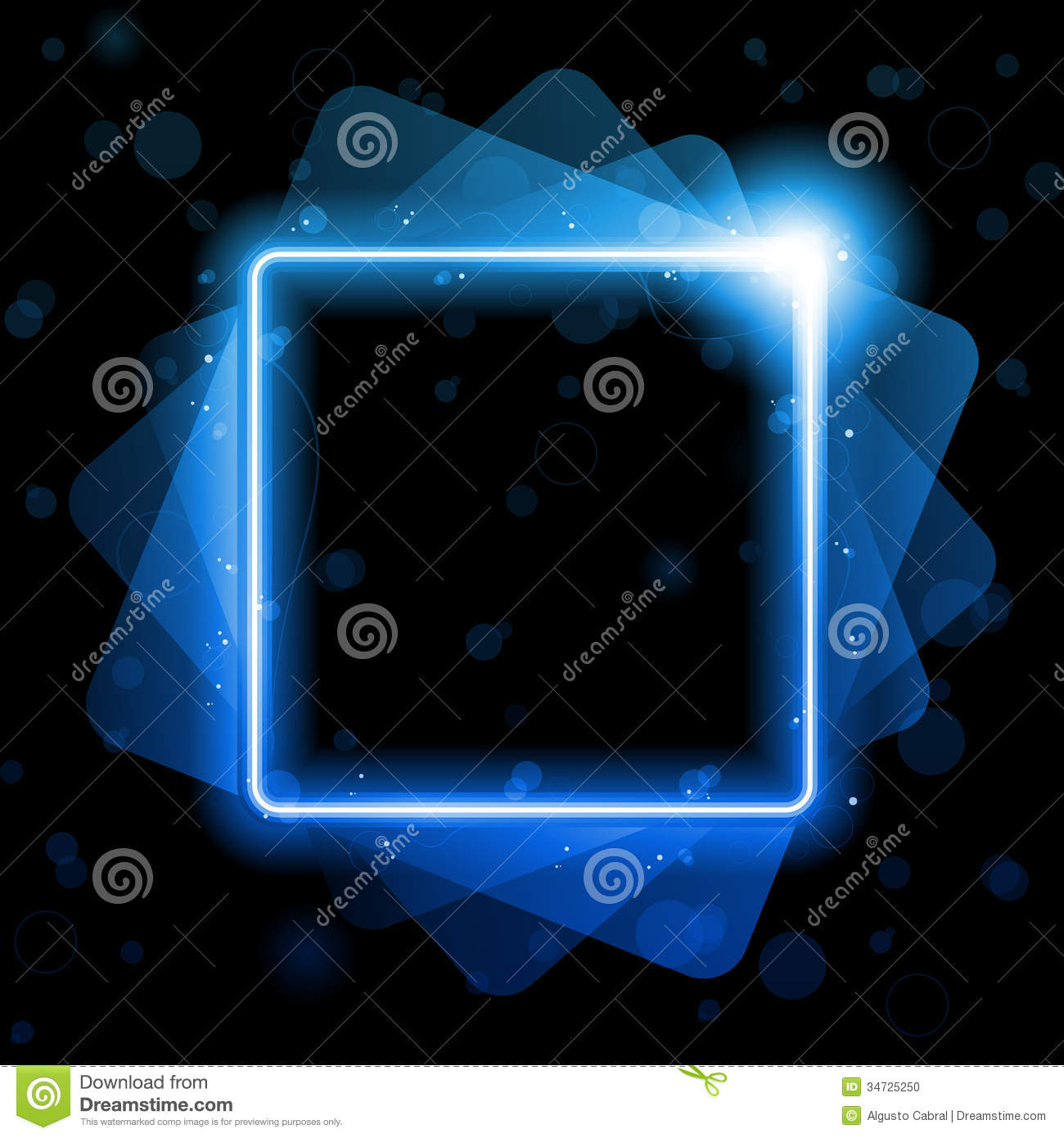 Modern hotel room interior stock photo image 18197840 - Blue Square Lines Background Neon Laser Stock Photo