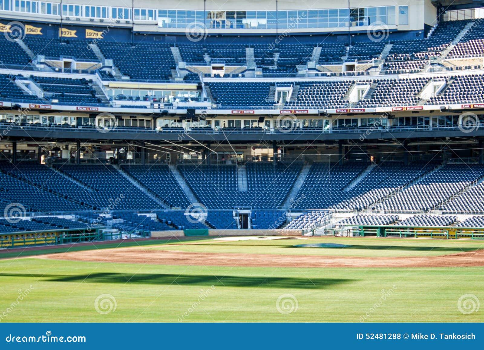 Baseball Blue Home Park Pittsburghs Plate Pnc