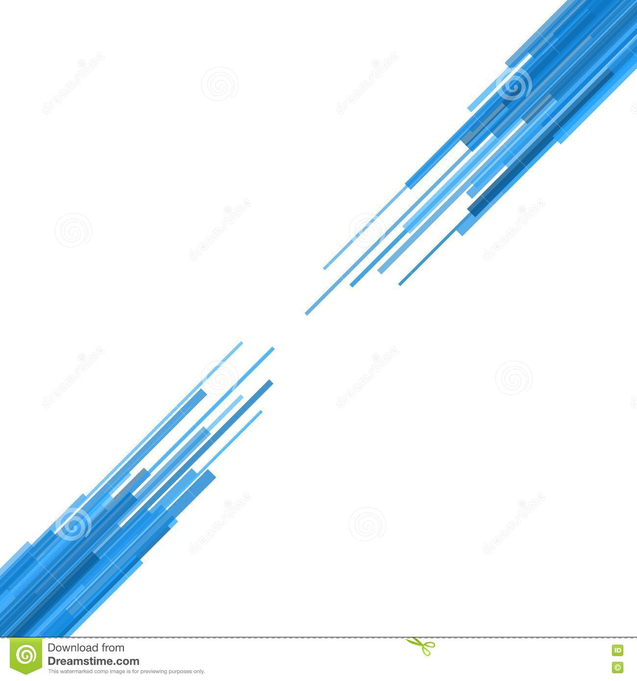 Vector Drawing Straight Lines : Blue straight lines abstract background vector stock