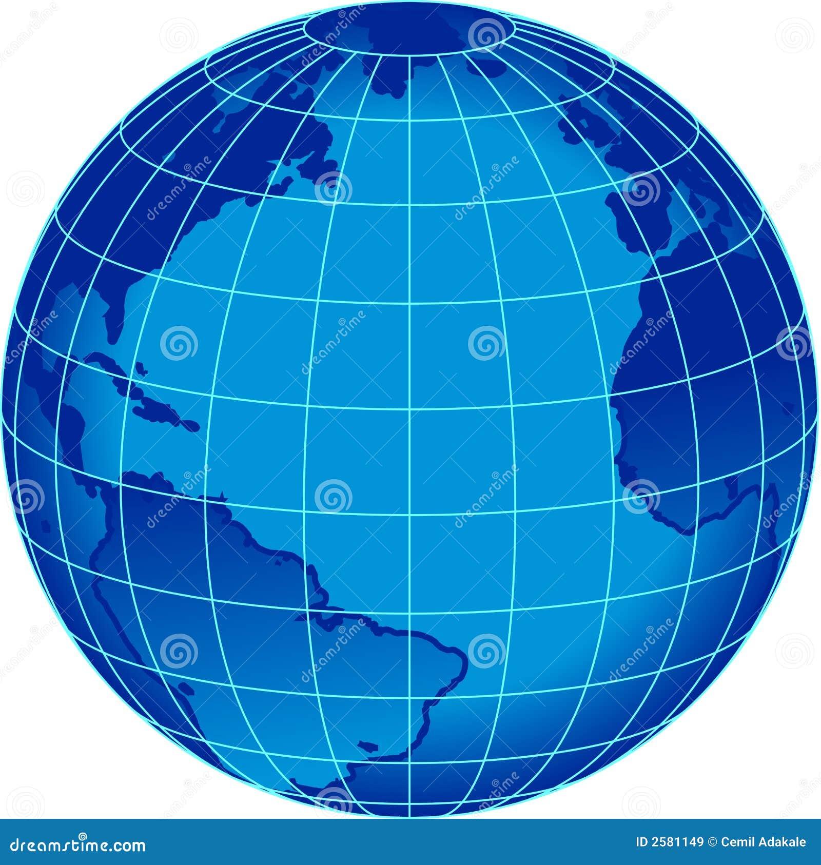 blue stripe word globe stock vector illustration of west 2581149