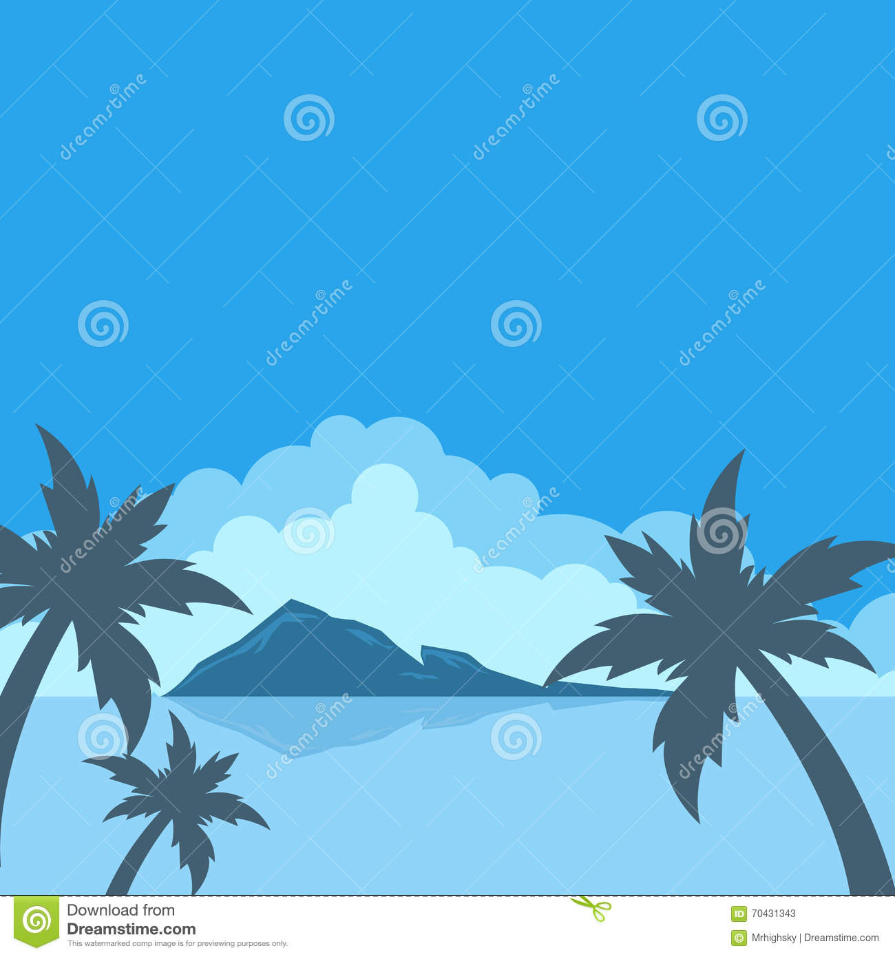 background of blue tropical - photo #16