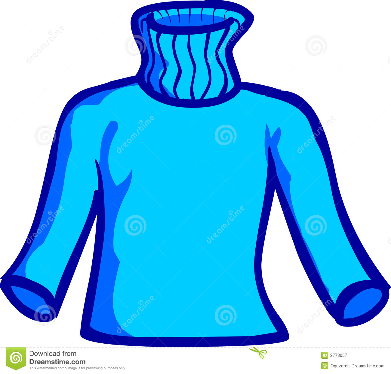 Blue Sweater Royalty Free Stock Photography - Image: 2778057