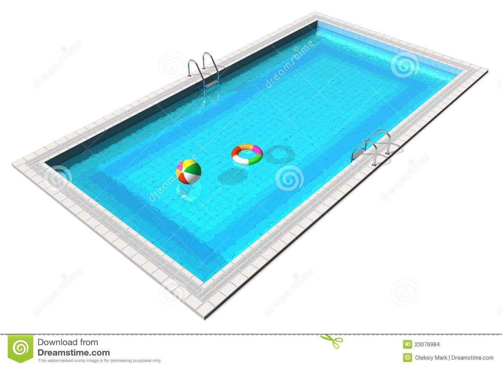 pool toys clip art