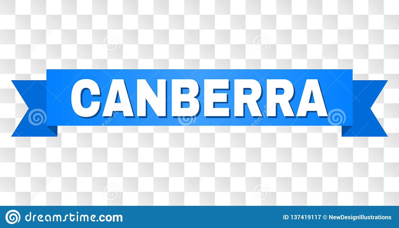 Blue Tape with CANBERRA Title