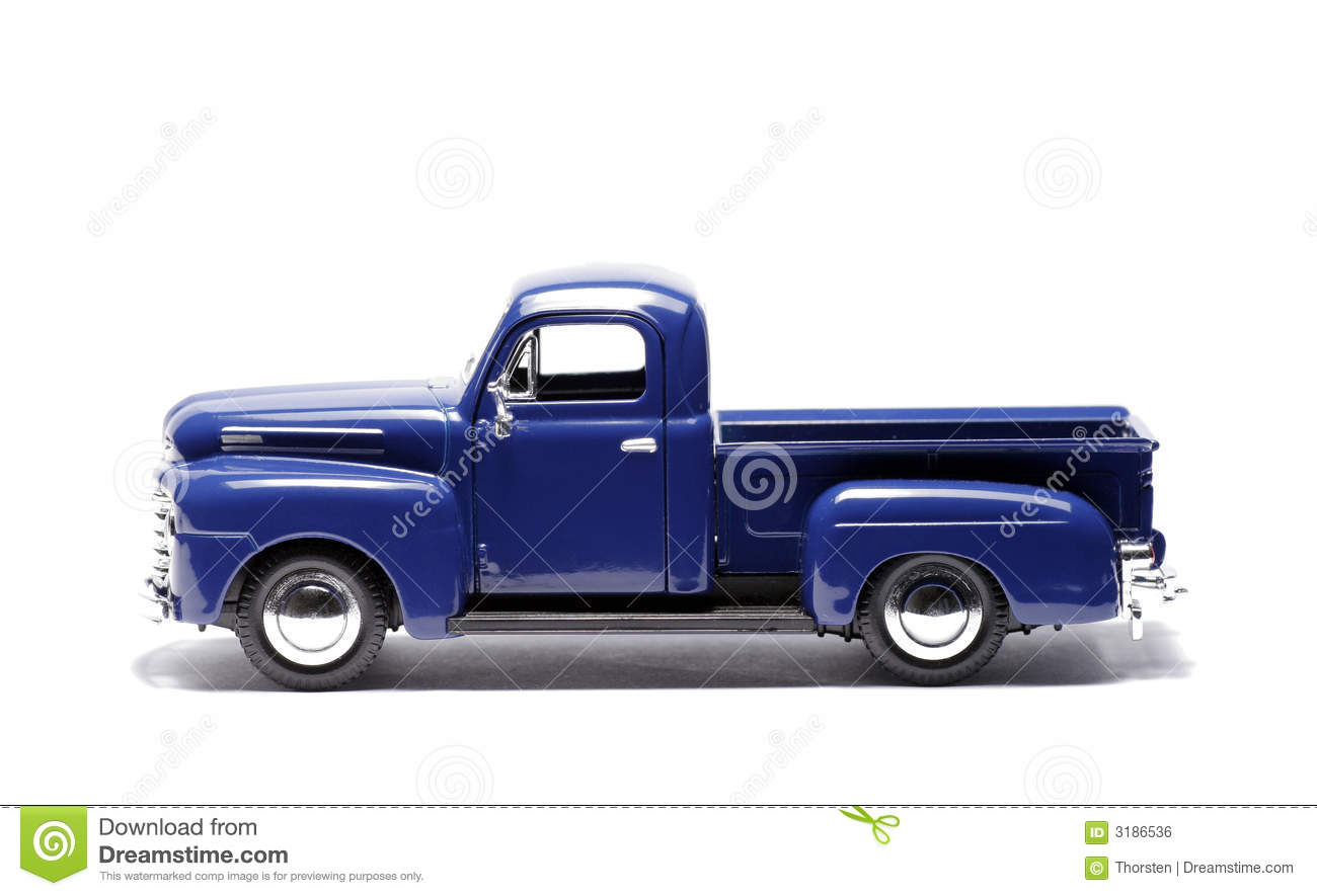blue toy car pick up truck stock photo image 3186536. Black Bedroom Furniture Sets. Home Design Ideas