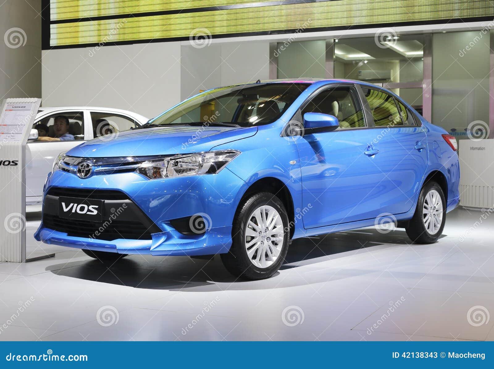 Blue Toyota Vios Car Editorial Stock Photo Image Of Taiwan 42138343