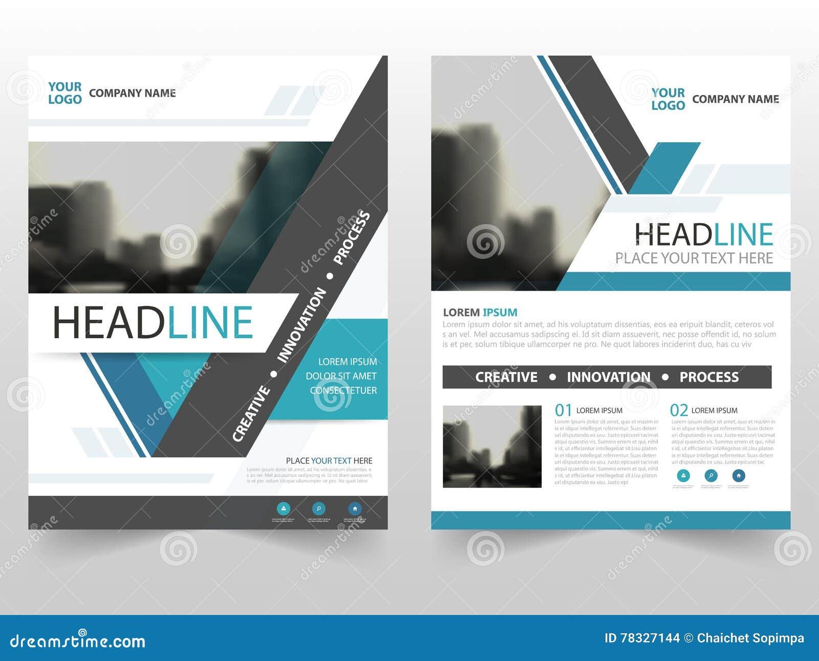 blue triangle business brochure leaflet flyer annual report blue triangle business brochure leaflet flyer annual report template design book cover layout design