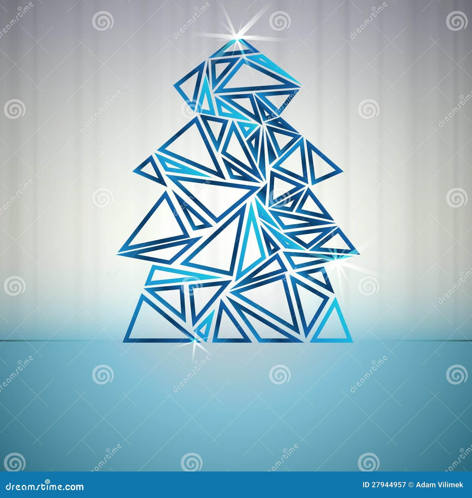 Simple Christmas Tree Outline